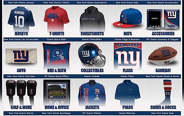 online retailer 13fa8 18962 Popular Shops Online » New York Giants (Fan Shops)